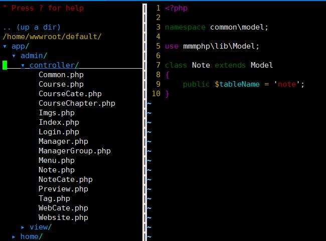20200613110701 - vim目录树及文件搜索插件